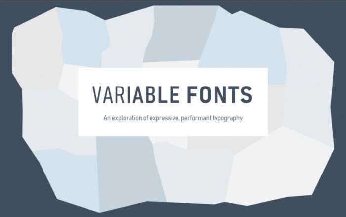 新版Win10改进Edge:突显Variable Fonts的强大魅力的照片 - 1